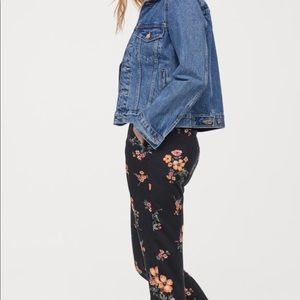 H&M Floral Pants • NWT 🌺 12/L